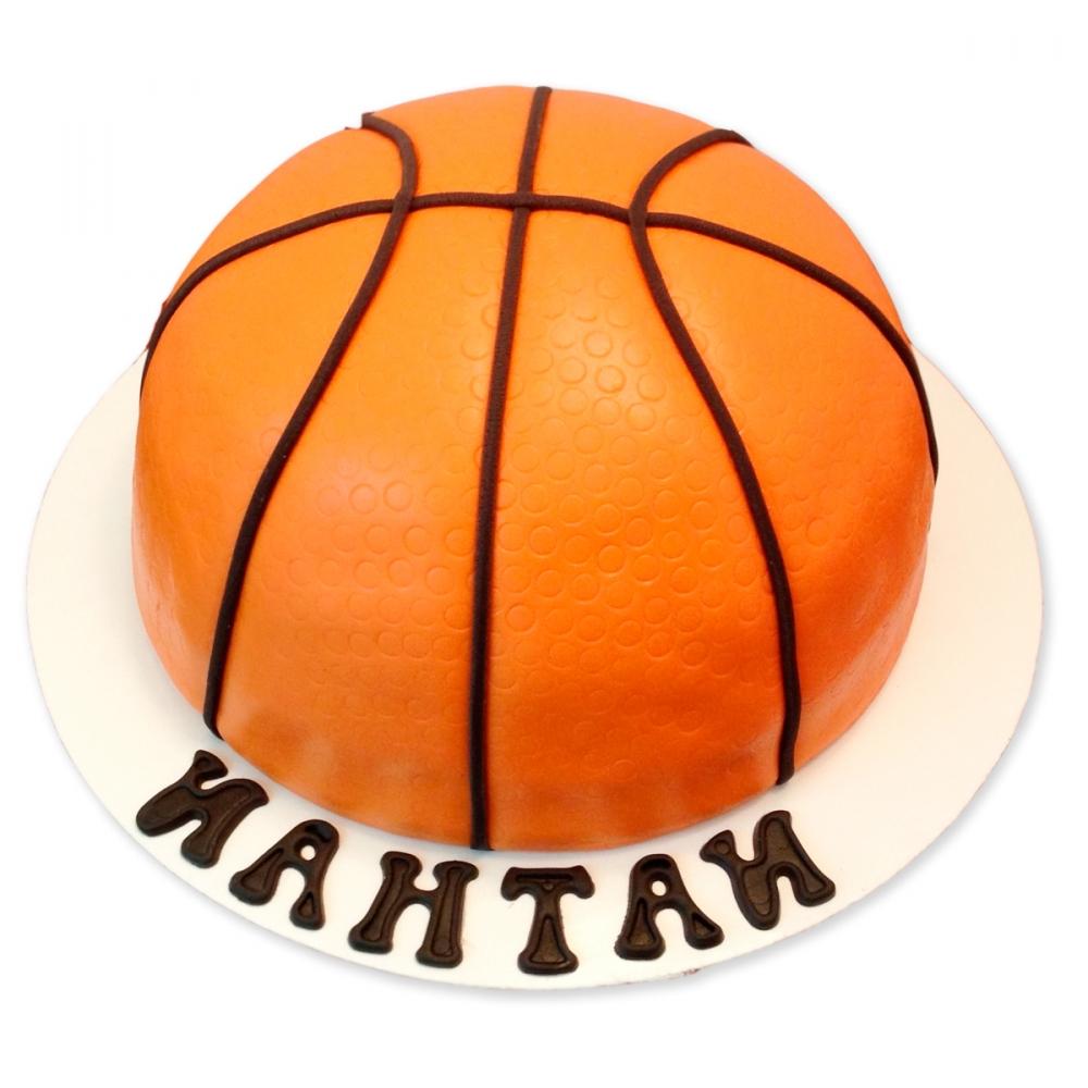 Картинки торта в виде баскетбольного мяча