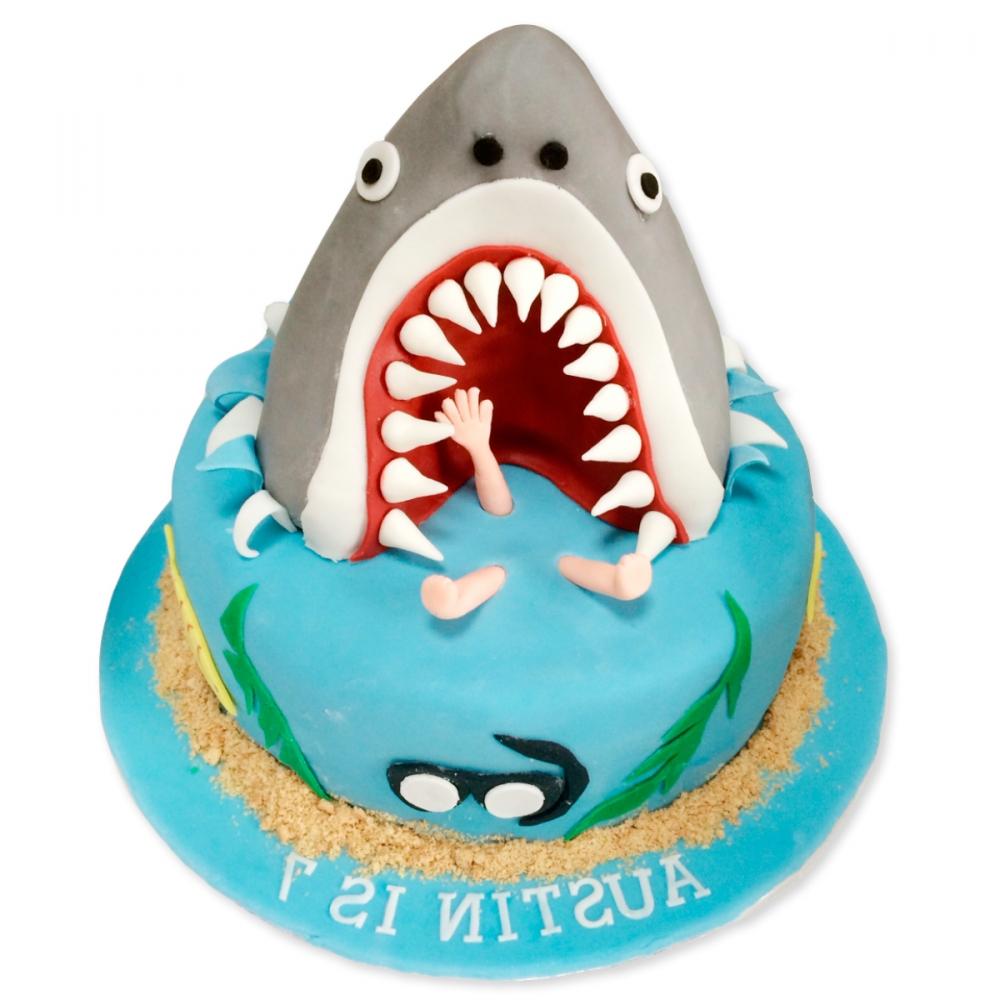торт с крокодилами фото и акулами даже зная