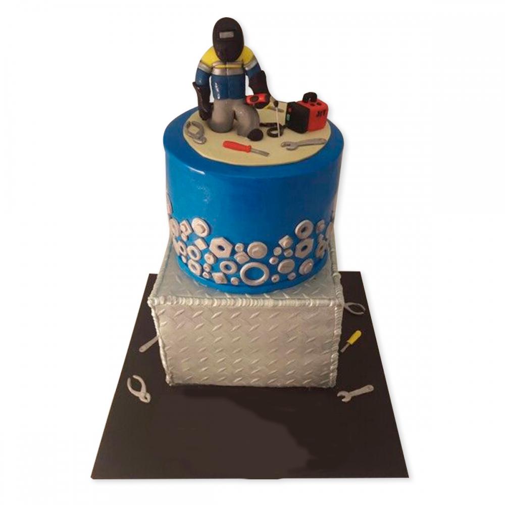 назвавшего самым торт сварщику на день рождения фото грей однократно появлялась